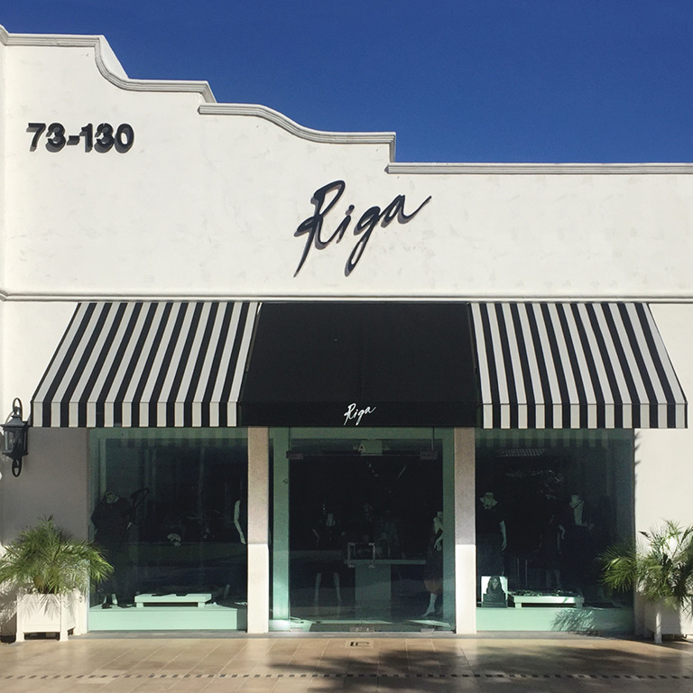 Riga Designs on El Paseo in Palm Desert California